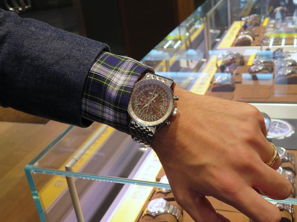 あの腕時計専門誌WATCH NAVIの関口編集長が選ぶ...2018年オススメのブライトリングはコレだ!!-ナビタイマー プレミエ お知らせ その他