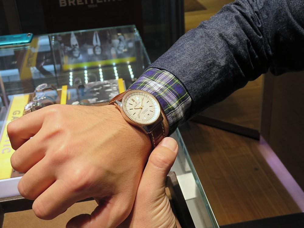 あの腕時計専門誌WATCH NAVIの関口編集長が選ぶ...2018年オススメのブライトリングはコレだ!!-NAVITIMER PREMIER お知らせ その他