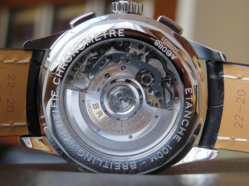 腕時計専門雑誌Chronos 3月号にプレミエ B01 クロノグラフ42が掲載!-PREMIER