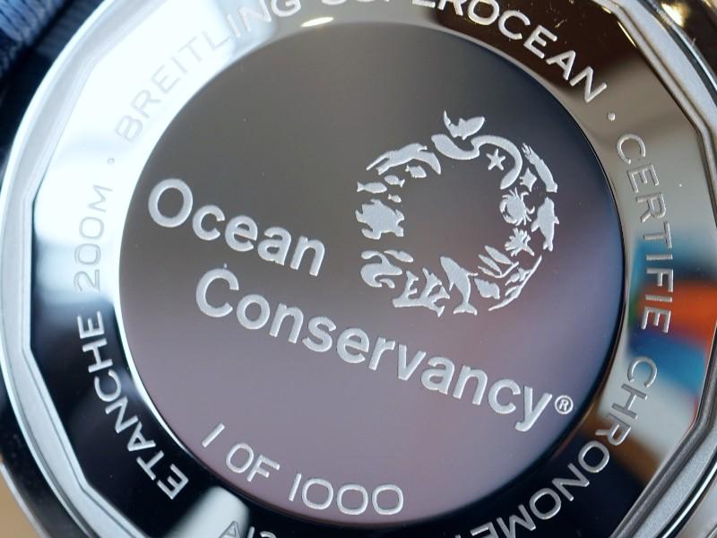 スーパーオーシャン ヘリテージより、海のNGOオーシャン コンサーバンシーとのパートナーシップを記念するリミテッドエディションが発表されました。-SUPEROCEAN