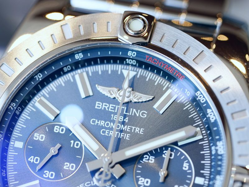 ブライトリングの代名詞として絶大な人気を誇るクロノグラフ クロノマット-CHRONOMAT