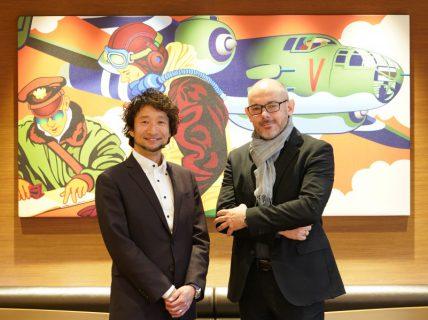 あのブライトリングSAアフターサービスディレクターのRoland Hirschi氏と林 繁氏が視察にご来店