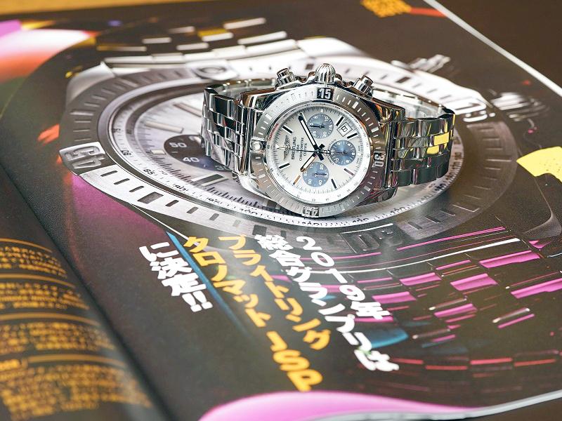あの有名時計雑誌WACTH NAVIの2019年、総合ランキング1位に輝いた時計はクロノマットJSP!-CHRONOMAT