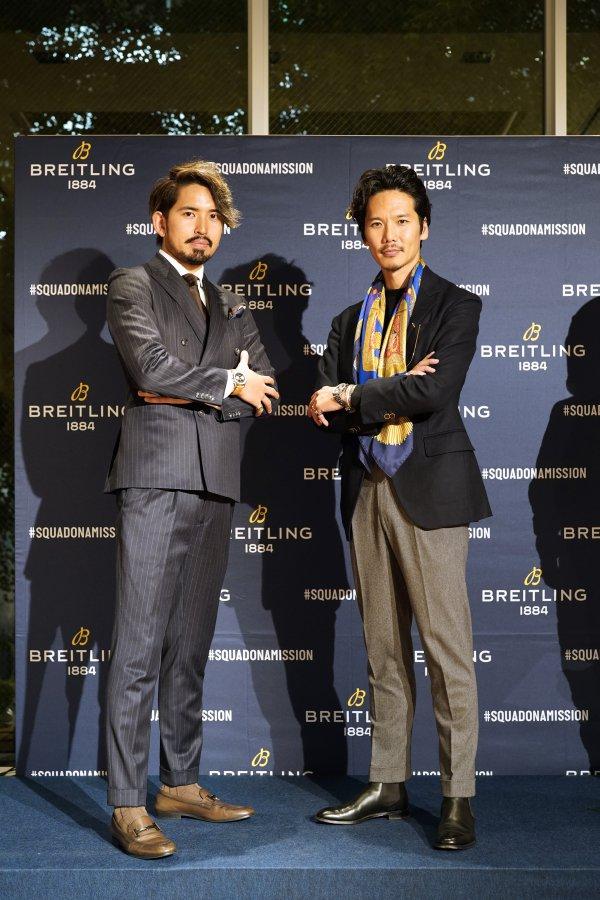 ファッション業界からもゲスト参加していた「佐藤琢磨 Season Review in BREITLING BOUTIQUE OSAKA」-お知らせ その他