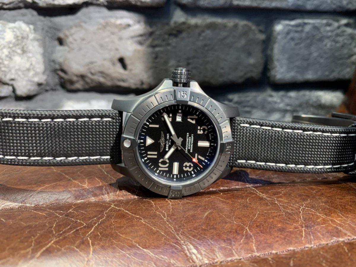 深海の潜水艦の名を持った防水3000mの腕時計「アベンジャー オートマチック 45 シーウルフ ナイトミッション」-AVENGER その他