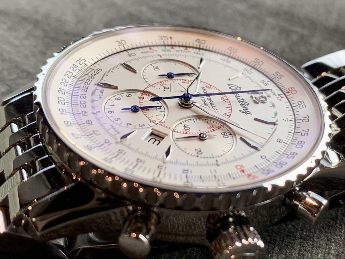 性別を問わず愛される優美なクロノグラフ時計!「モンブリラン38 ジャパンエディション 」-ナビタイマー その他