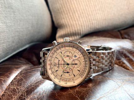 性別を問わず愛される優美なクロノグラフ時計!「モンブリラン38 ジャパンエディション 」