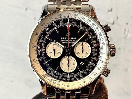 """""""歴史を身に着ける""""ことができる唯一無二の腕時計~ナビタイマー B01 クロノグラフ 46~"""