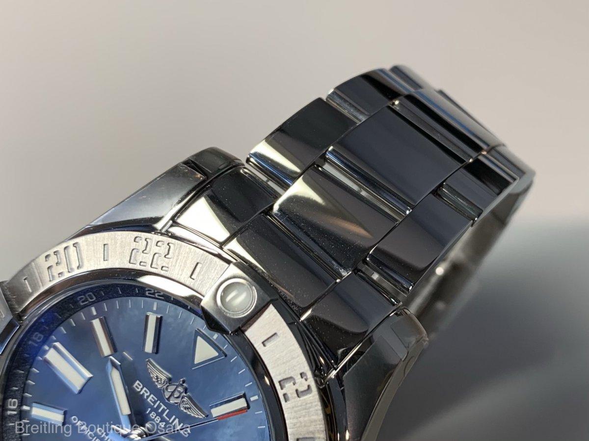 【生産終了モデル】50万円台で限定仕様が買える!~アベンジャー II GMT ブルー マザーオブパール~-アベンジャー