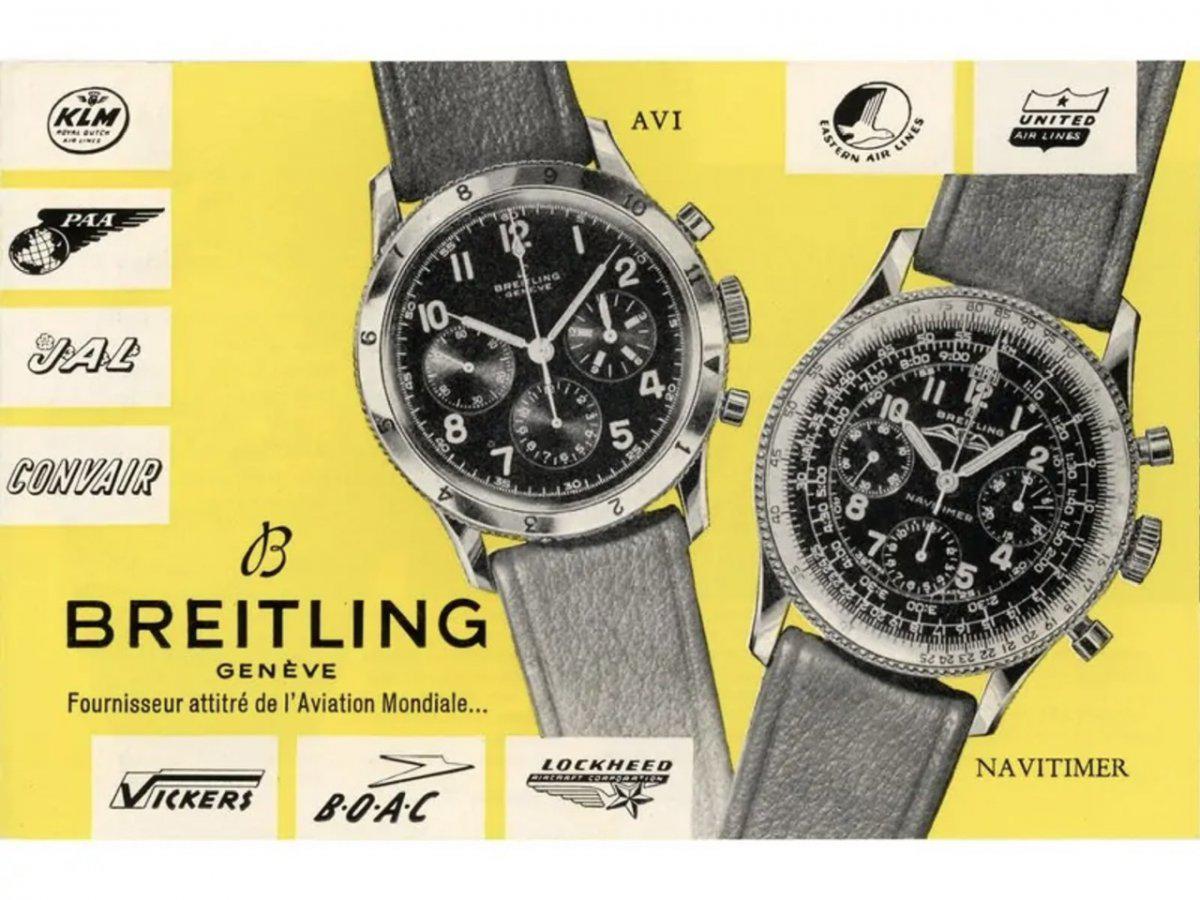 ブライトリングの歴史的な時計を振り返りながら現在のモデルをご紹介!-スーパーオーシャン ヘリテージ アビエイター 8 プレミエ