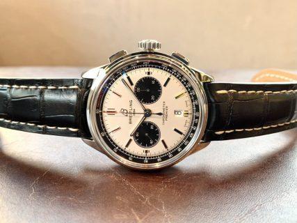 ブライトリング史上トップレベルにエレガントな腕時計「プレミエ B01 クロノグラフ 42」